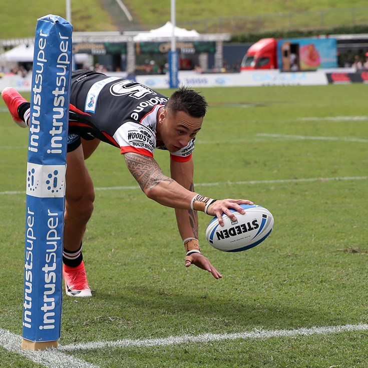 Vodafone Warriors stop competition leaders
