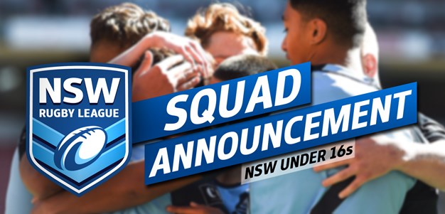 Two Knights named in the NSW under-16 squad