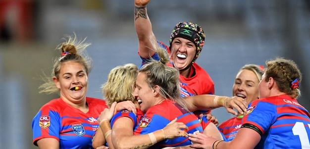 CRL Newcastle downs Mounties in NSW Women's Grand Final