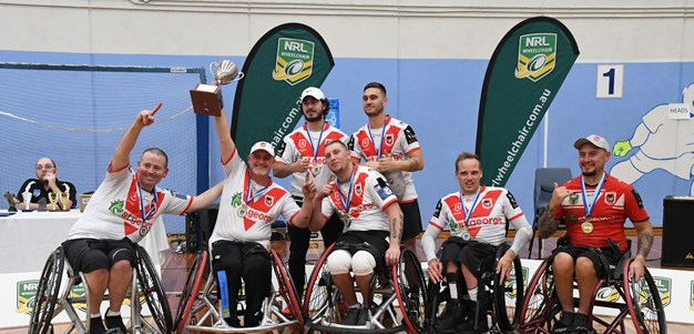 Dragons crowned three-peat NSW Wheelchair premiers