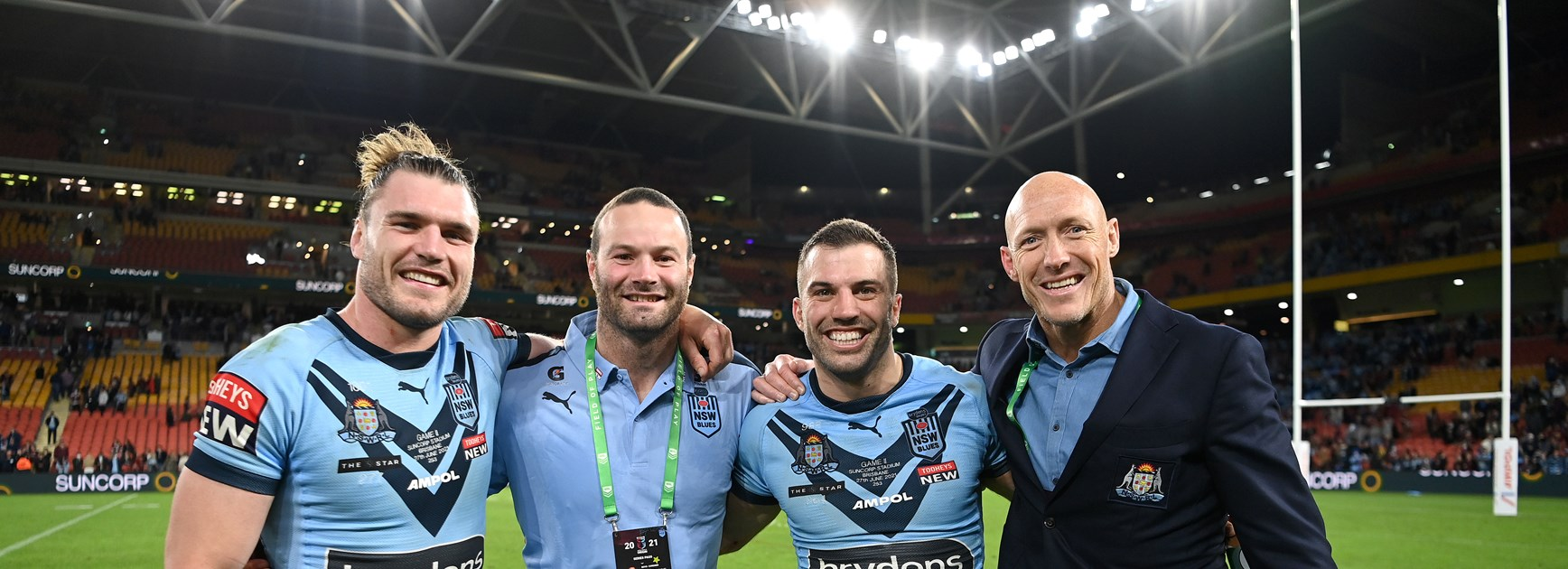 Fitzy grateful for time with NSW Blues