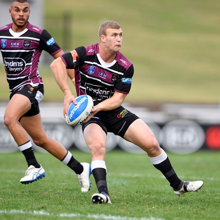 Dominant Sea Eagles surprise Dragons in Wollongong