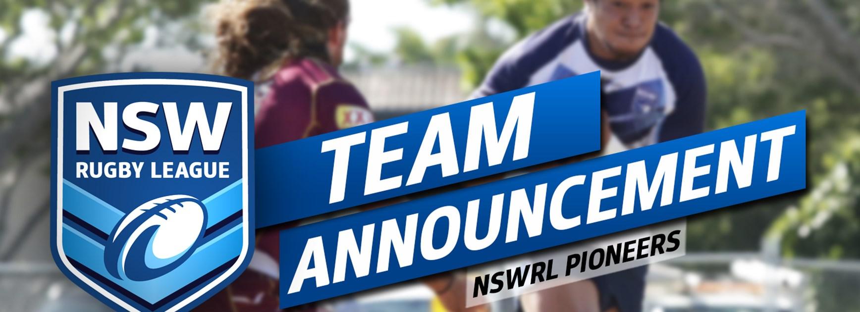 TEAM | NSWRL Pioneers