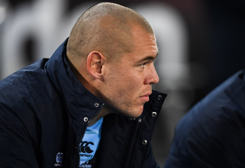 David Klemmer spent the entire second half on the bench in Origin II, 2018.