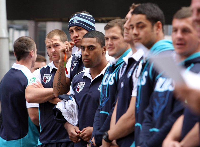 Michael Jennings and Blake Ferguson have played 20 Origin and NRL games together, beginning in 2013.