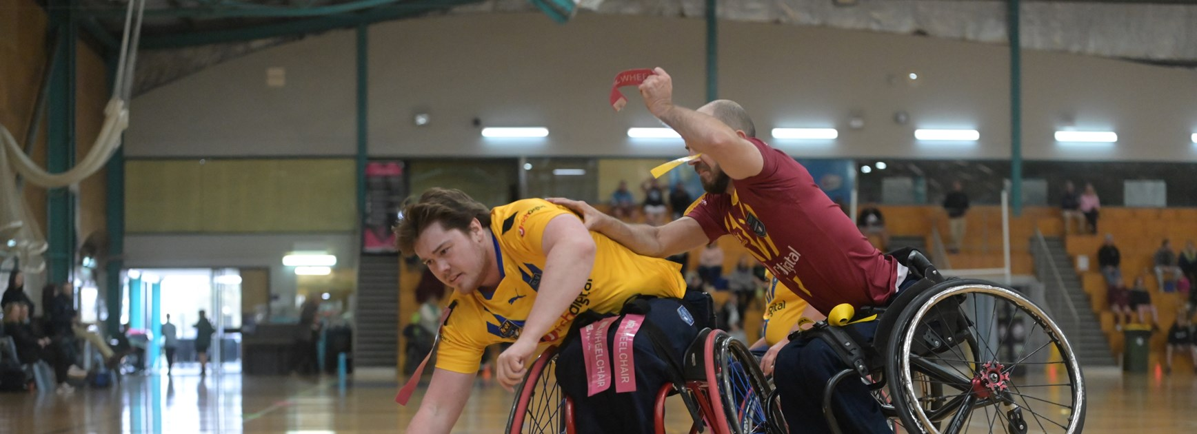 Country dominate City in Wheelchair RL