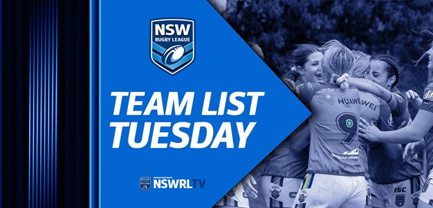 Team List Tuesday |  Major Comps Rd 9