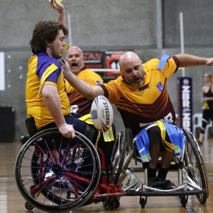 NSW Wheelchair Rugby League star players face-off in Country-City clash