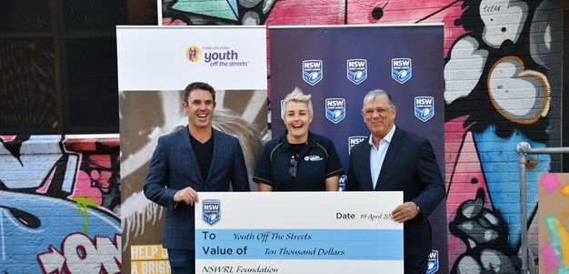 Fittler continues support for Youth Off The Streets