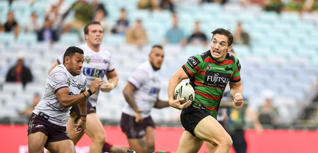The new Rabbitohs recruit Cameron Murray rates in attack