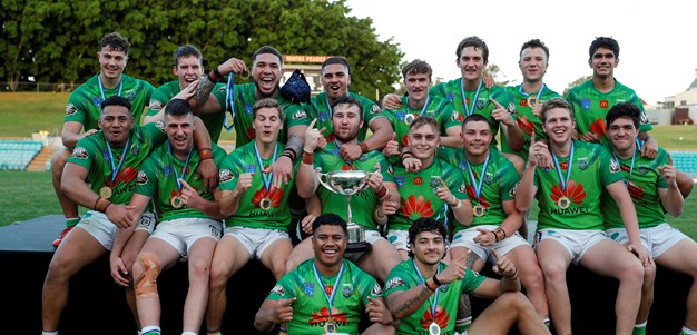 Raiders hold off Steelers in hard fought UNE SG Ball Cup Grand Final win