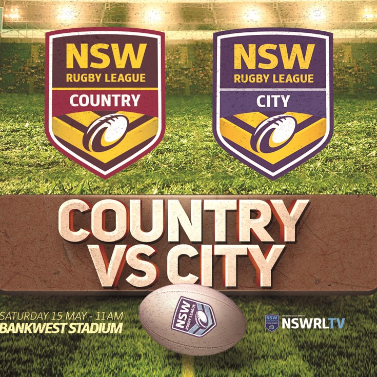 Country vs City squads named for representative weekend