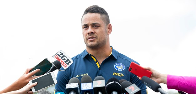 MEDIA | Jarryd Hayne: A Surreal First Day