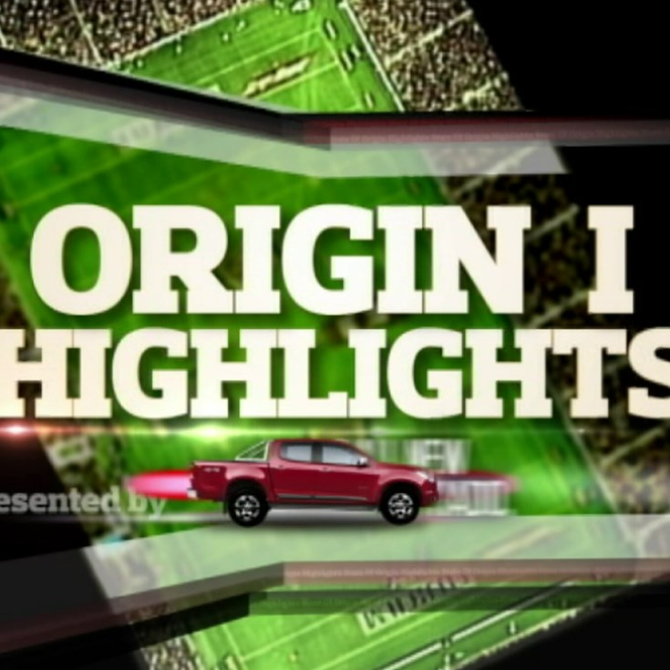 Holden State of Origin match highlights - Game 1