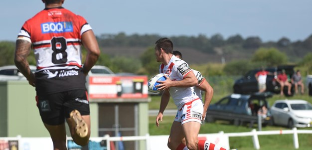 First-half Blitz Seals Dragons Win