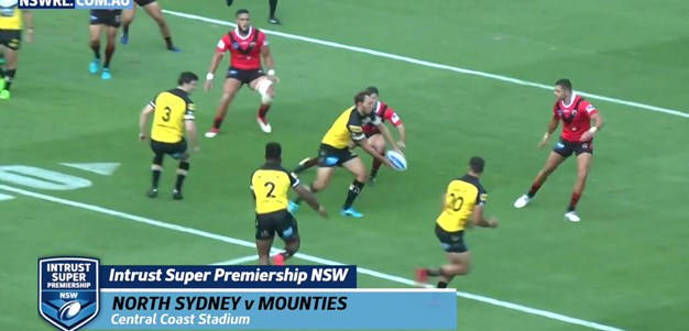 Garvey, Farah Star as Mounties Triumph
