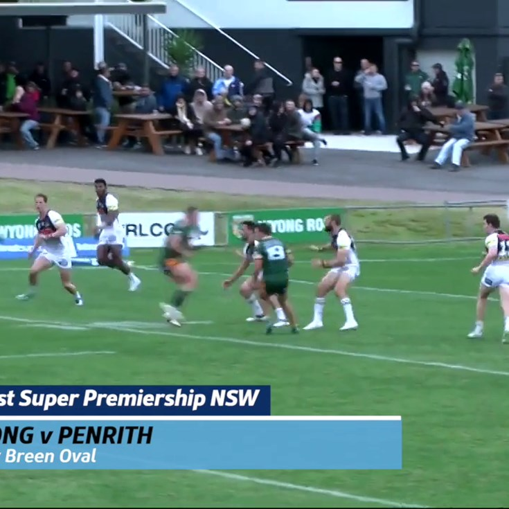 Wyong-Penrith Draw at Morry Breen