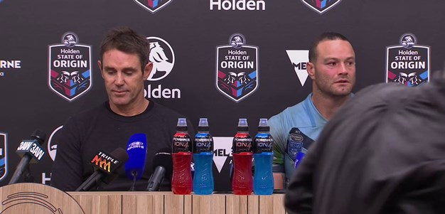 NSW Press Conference: State Of Origin - Game I