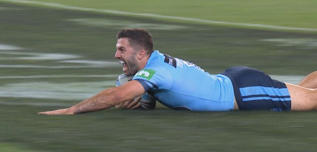 Tedesco Scores NSW's First Try