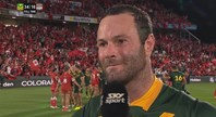 Cordner Delighted To Get First Win As Captain