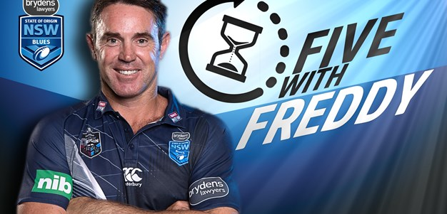 Five with Freddy: Inglis v Mitchell