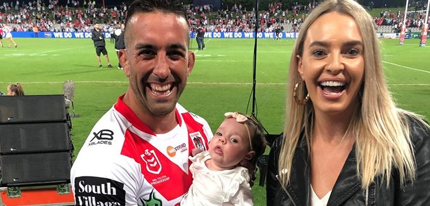 How Vaughan's baby girl is driving him to Origin success