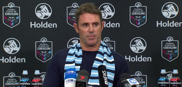 Brydens Lawyers NSW Blues press conference