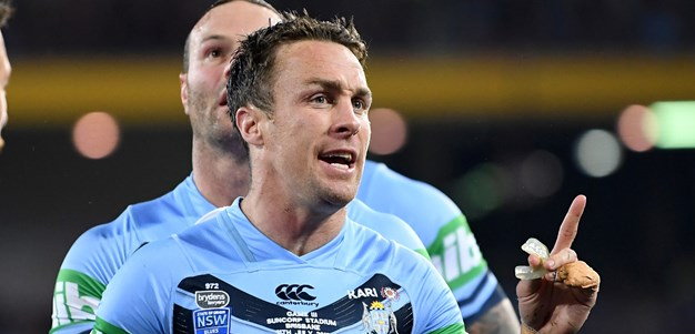 Maloney fired up for Origin recall