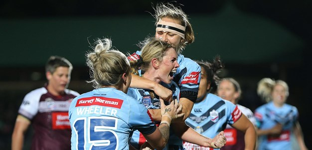Match Highlights: Women's Origin - NSW v QLD