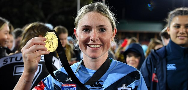 Maddie Studdon awarded Nellie Doherty Medal
