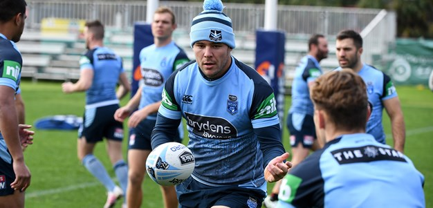 Fittler keeping powder dry on starting side