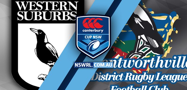 HIGHLIGHTS | Western Suburbs v Wentworthville – Rd 17