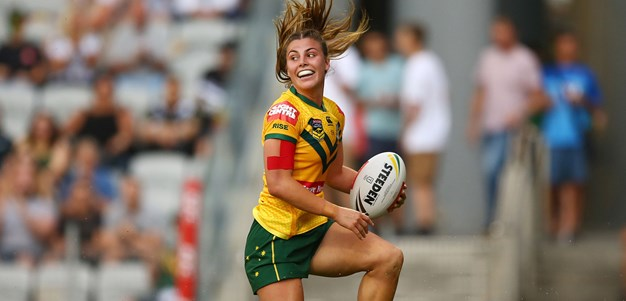 Match Highlights: Jillaroos v Kiwi Ferns
