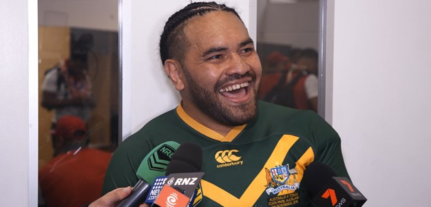 Latrell fan Hurrell takes down 'world's best centre'