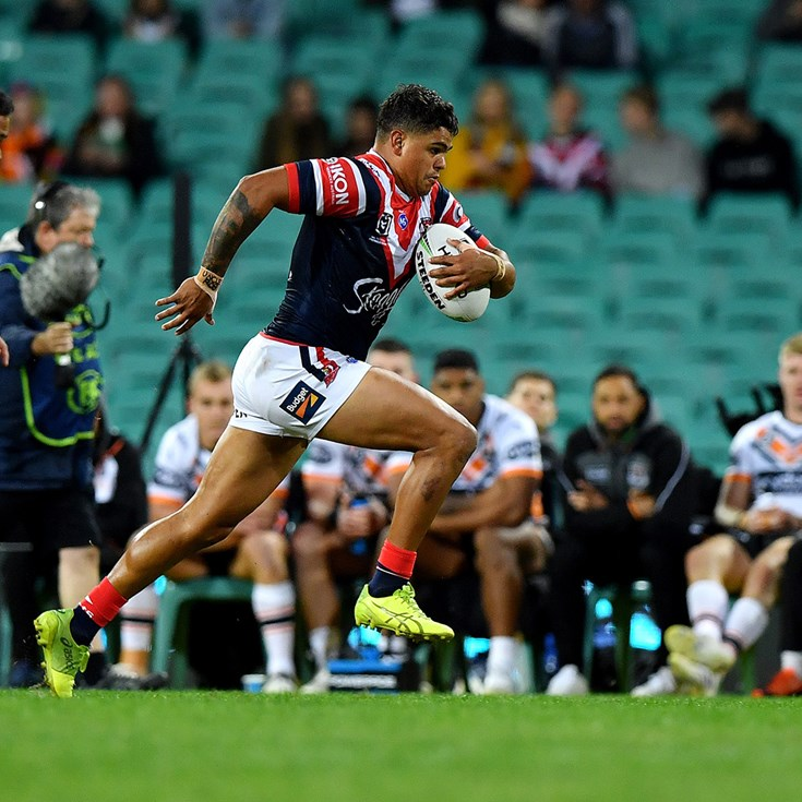 All of Latrell Mitchell's tries from 2019