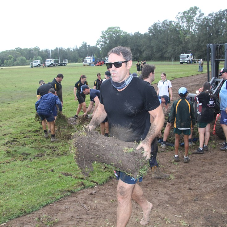 Blues re-turf Cessnock school field