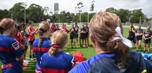 Women's positional day for halves and hookers