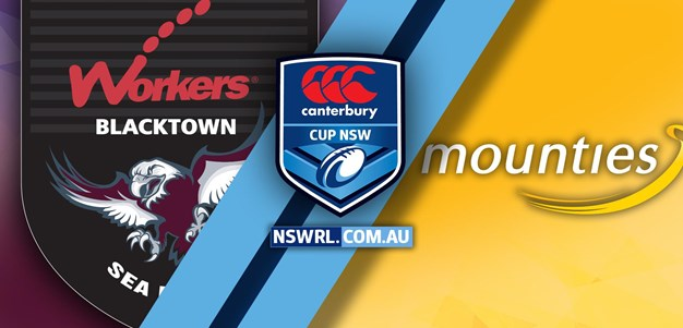 HIGHLIGHTS Blacktown Workers v Mounties Rd 1