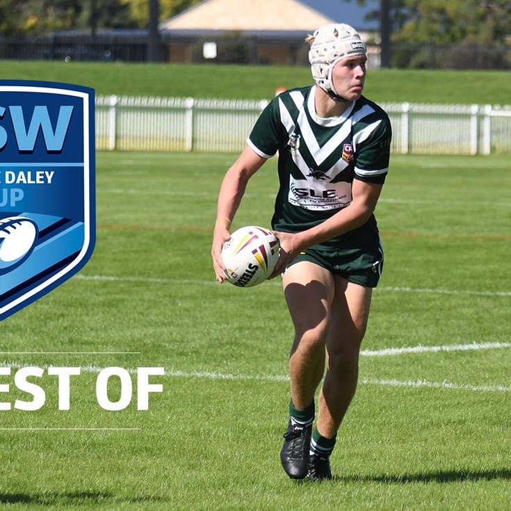 Laurie Daley Cup | Best through the hands tries