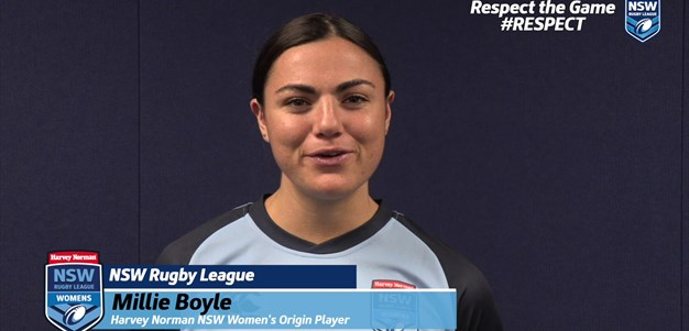 #RESPECT Round 10: Millie Boyle