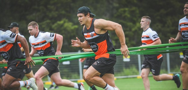 James Roberts excited for new start at Wests Tigers