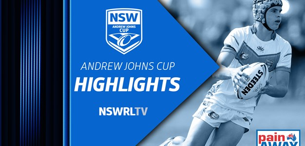 NSWRL TV Highlights | Andrew Johns Cup R3