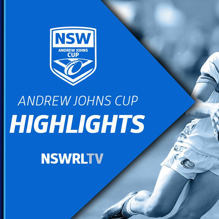 NSWRL TV Highlights | Andrew Johns Cup R4