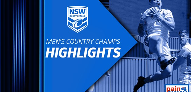 NSWRL TV Highlights | Men's Country Championships R2