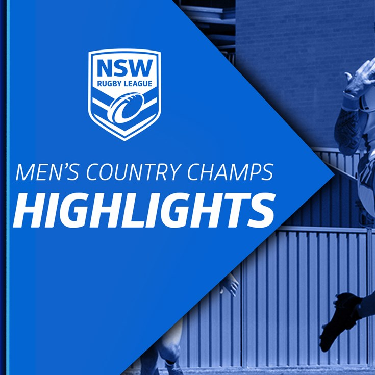 NSWRL TV Highlights Men's Country Championships R2