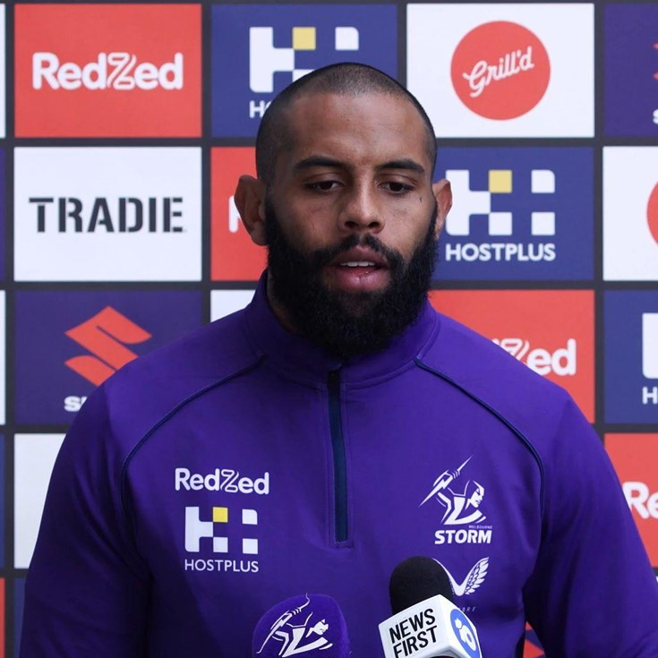 Josh Addo-Carr looks back on blockbuster Panthers clash