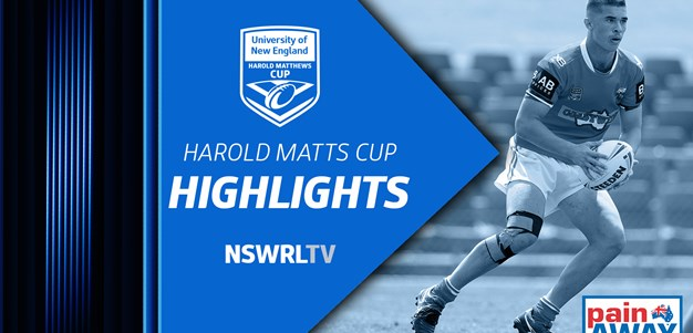 NSWRL TV Highlights Harold Matthews Cup Round 9