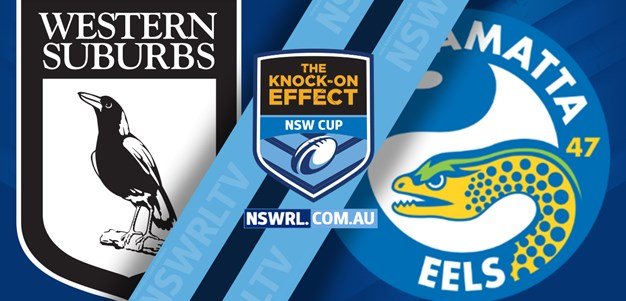 NSW Cup Highlights Magpies v Eels Rd 4