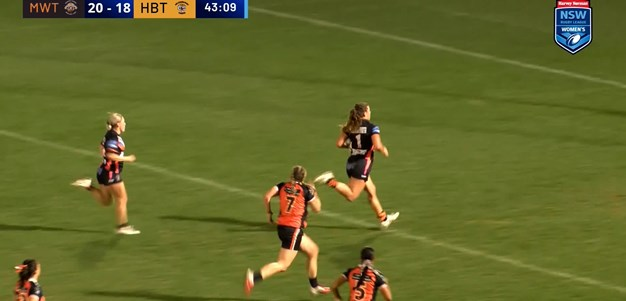 NSWRL TV Highlights Harvey Norman Women's Premiership Rd 4