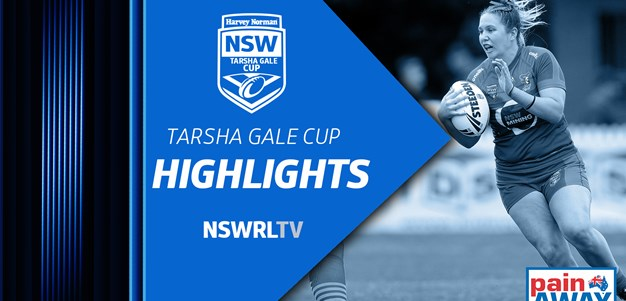 NSWRL TV Highlights Harvey Norman Tarsha Gale Cup Round 9